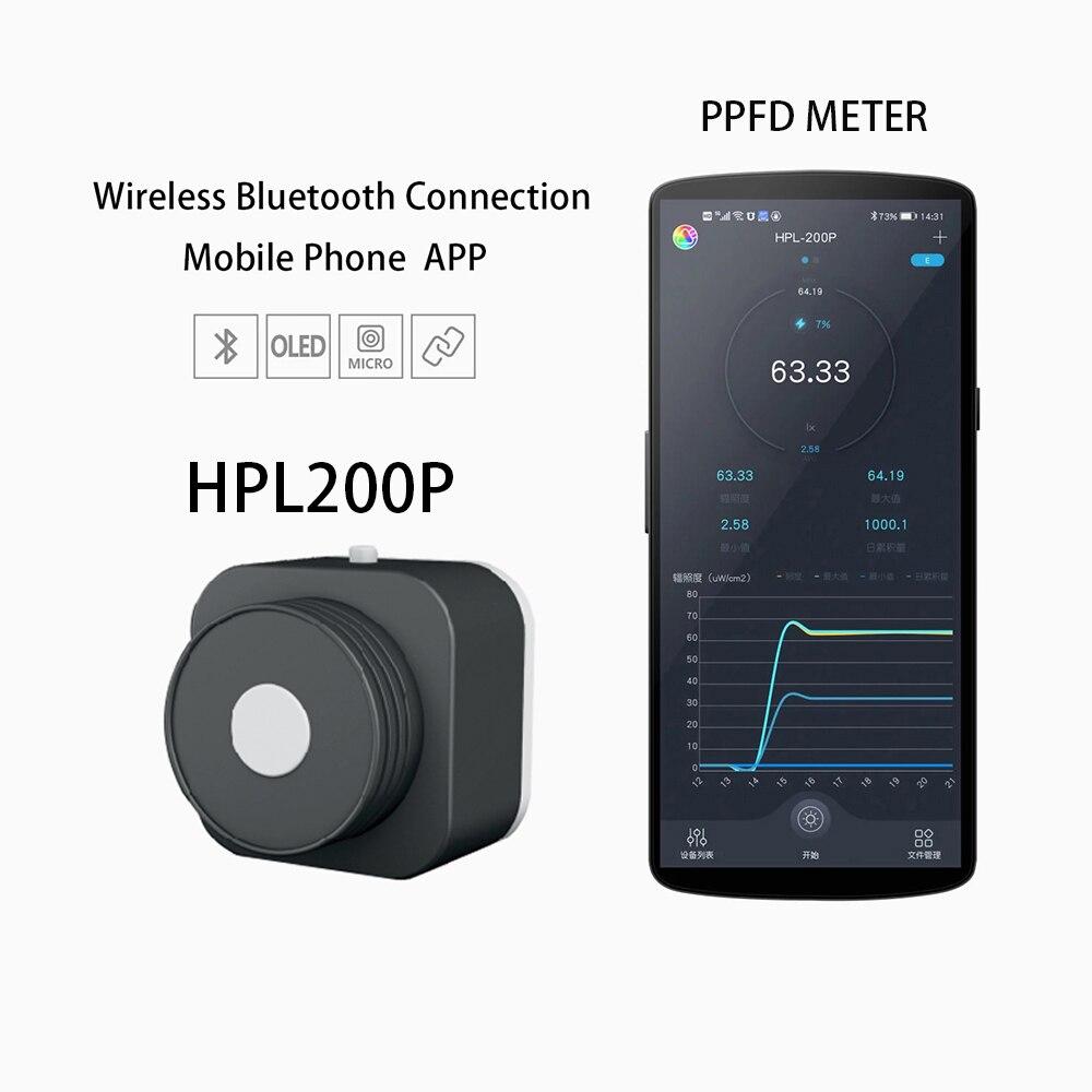 PAR PPFD Spectrometer HPL200/220Ppar ppfd meter  apply to plant light test