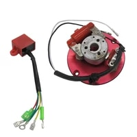 1 set motorcycle magneto stator rotor ignition coil assembly kit replacement for 50110125140150cc scooter go kart atv quad