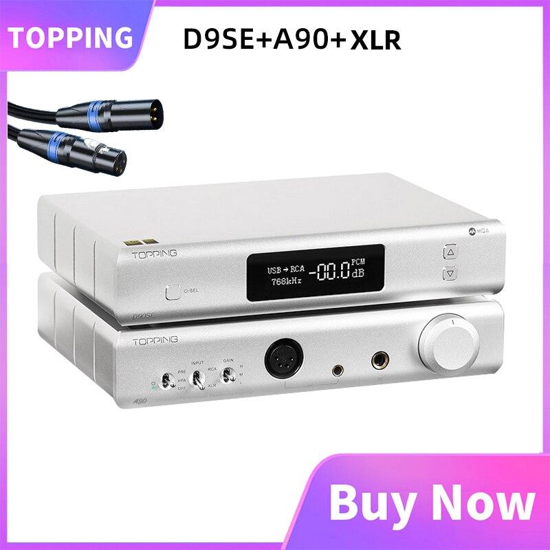 تتصدر D90SE + تتصدر A90 + XLR كابل