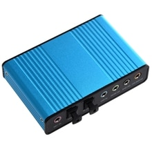 Einzelhandel USB 6 Kanal 5,1 Externe Audio Soundkarte SPDIF