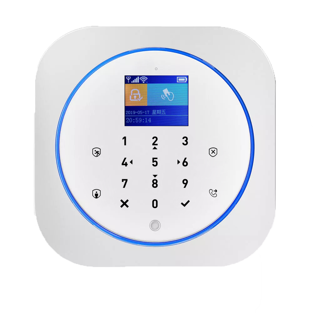 Home Security Alarm System For Theft Prevention Wireless TUYA Intelligent GSM/3G/4G+WIFI  security  alarm systems security home enlarge