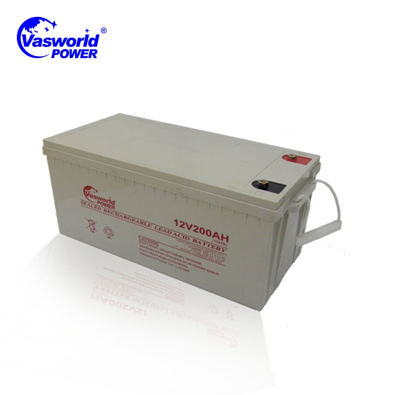 Fabricante de China, batería solar PV de ciclo profundo de ácido de plomo sin mantenimiento, 12v 250Ah