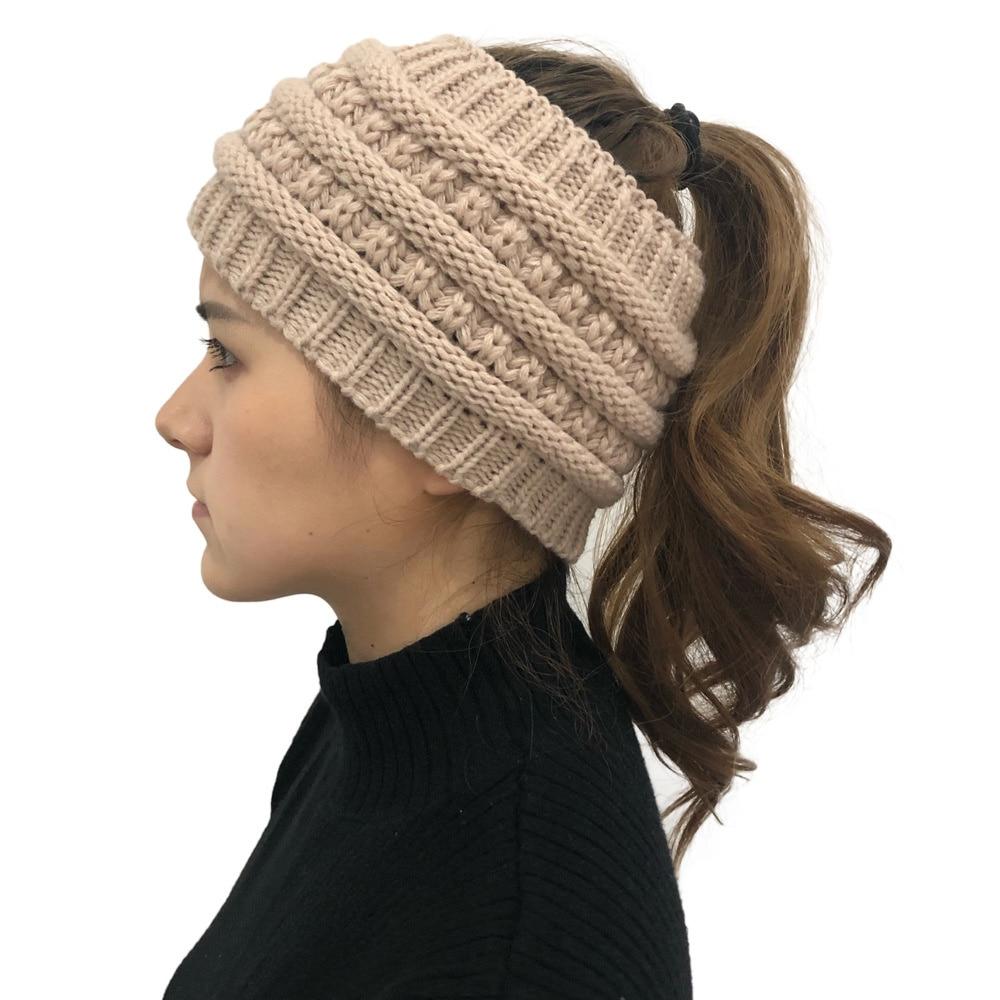 Мягкая эластичная зимняя теплая вязаная повязка на голову, ободок для ушей, современный стиль, эластичная Женская повязка на голову, тюрбан,...