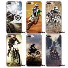 Phone Case For Sony Xperia Z Z1 Z2 Z3 Z5 compact M2 M4 M5 C4 E3 T3 XA Huawei Mate 7 8 Y3II Dirt Bikes motorcycle race Moto Cross