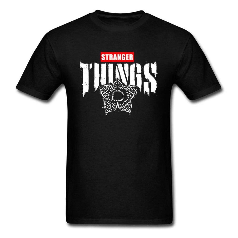 Demogorgon-Camisetas atléticas de Stranger Things, camisas negras con letras, partes superiores nuevas...