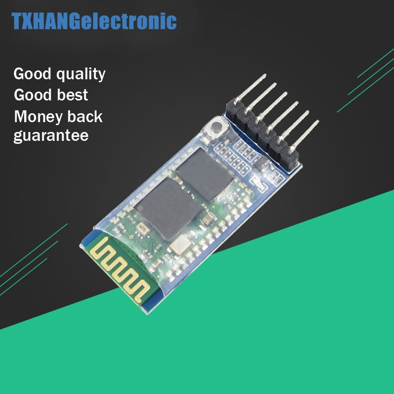 Inalámbrico de 6 pines Bluetooth RF módulo transceptor HC-05 RS232 Maestro Esclavo anti-paso inverso inalámbrico bluetooth diy