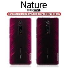 For Poco X2 Redmi K30 case 5G For xiaomi redmi k20 pro Nillkin Nature Soft silicon TPU cover For Xiaomi Mi 9T Case Mi 9T Pro