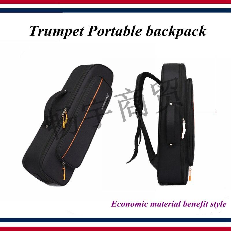 Funda de trompeta-Accesorios de trompeta-Bolsa de trompeta, mochila portátil, material económico beneficio estilo