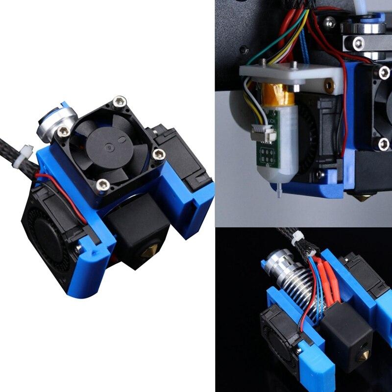 جميع المعادن ثلاثية الأبعاد V6 J-رئيس هوتيل بودن الطارد عدة مع مروحة التبريد قوس كتلة 1.75 فوهة طابعات ثلاثية الأبعاد