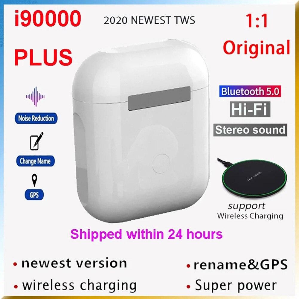 Auriculares intrauditivos i90000PLUS TWS con Bluetooth, dispositivo de audio estéreo, Mini, inalámbrico...