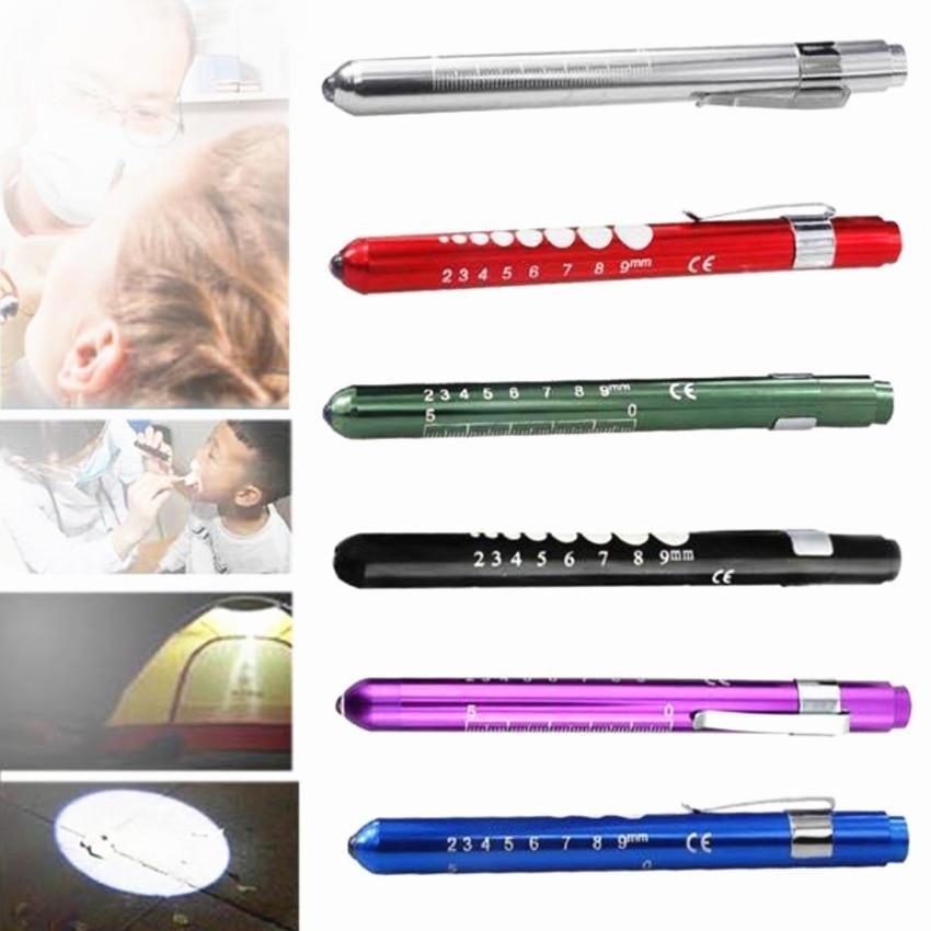 Linterna LED de Doctor, luz LED, linterna led, portátil, médico, primeros auxilios, emergencia EMT, útil, multifunción
