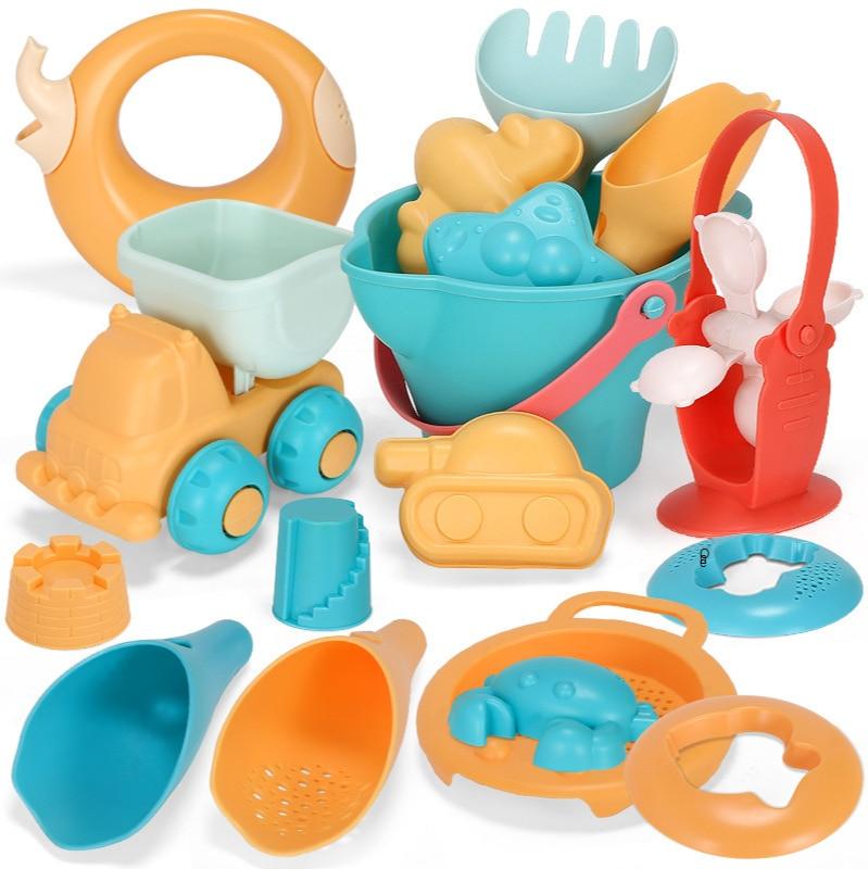 Силиконовые пляжные игрушки, мягкие детские игрушки, летние пляжные игрушки, детские мягкие игрушки с песком для детей