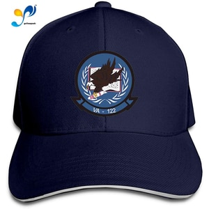 VA-122 Patch Men Cotton Classic Baseball Cap Adjustable Size