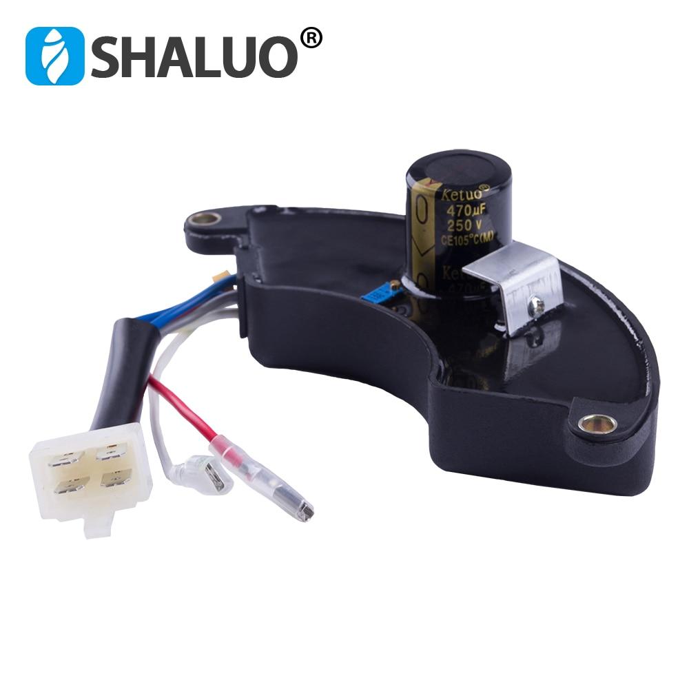 220v single phase Power avr universal Gasoline AC Generator Control Automatic Voltage Regulator stabilizer 5kw 8KW 6wires