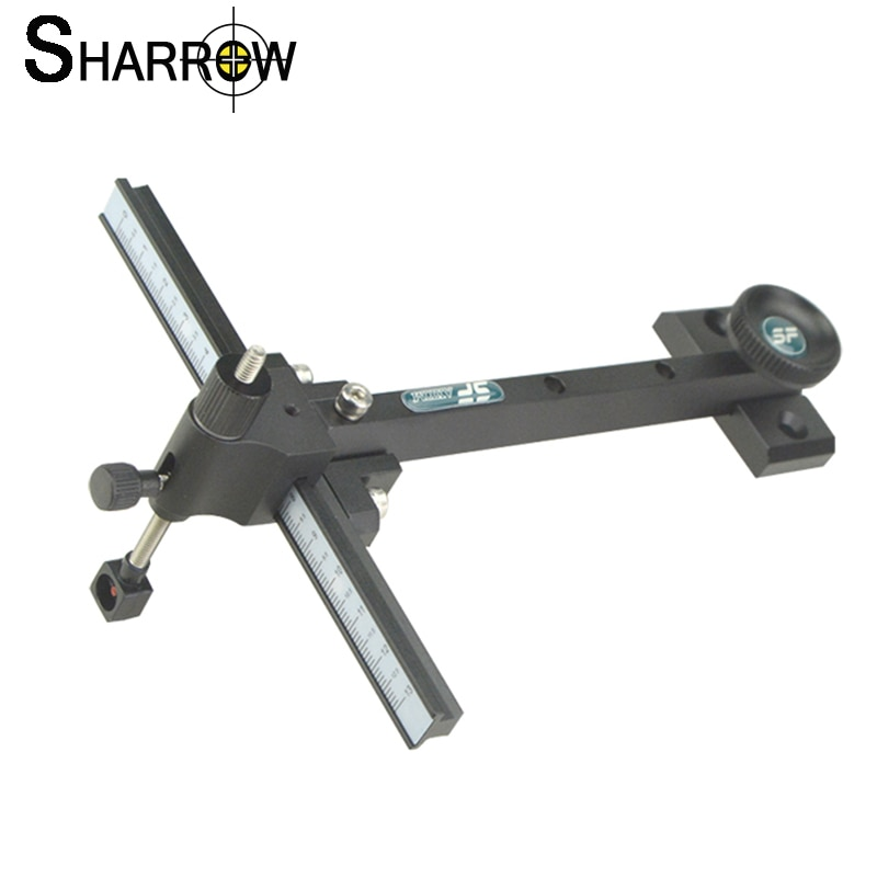 compound bow micro adjust 5 pin sight bow and arrow hunting sight scope right left hand shooting archery aiming accessories 1pc Archery Recurve Bow Sight Aluminum Alloy T Shape Aiming Sight for Bow and Arrow Hunting Target Shooting Accessories