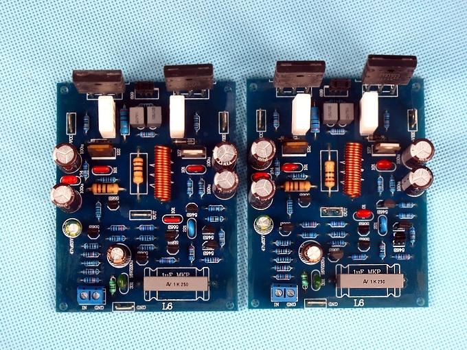 Tubo Placa Amplificadora L6 TTA1943 TTC5200 80W 120W Kit Capacitores CBB