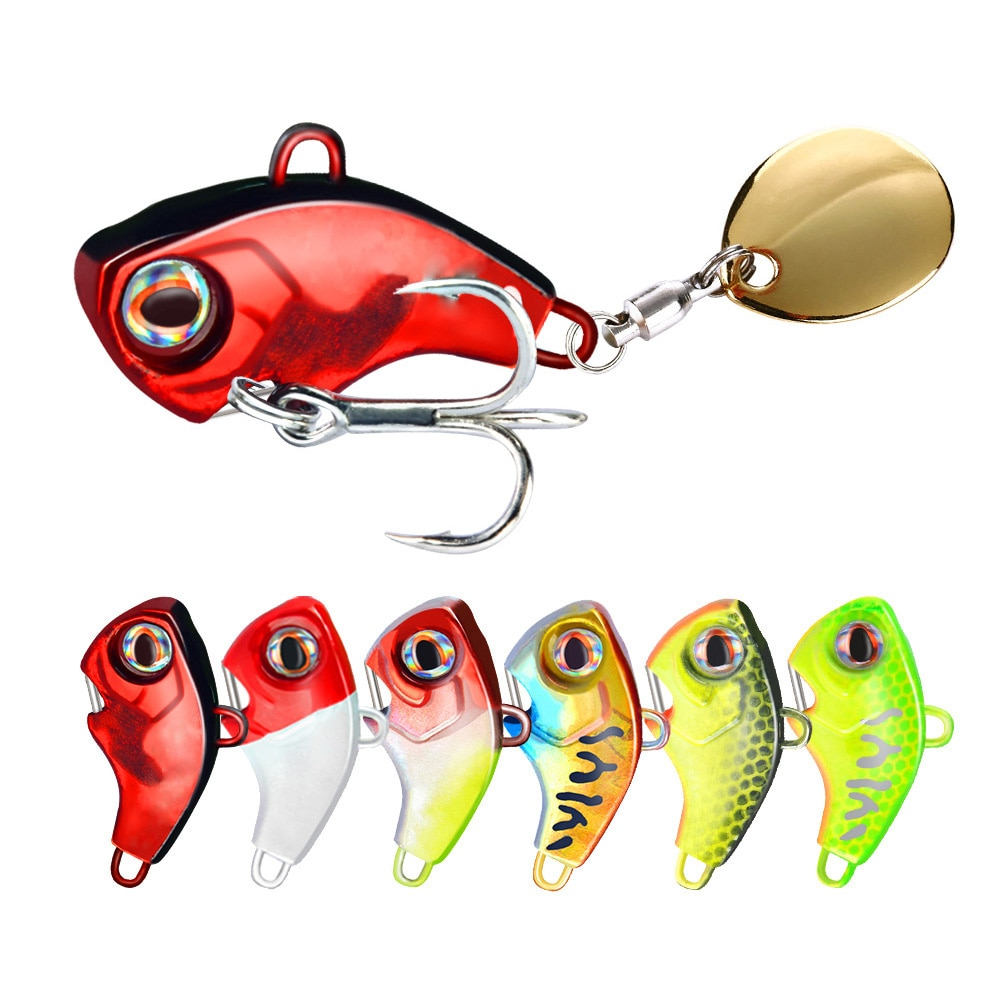 2017 spoon lure metal bait hard fishing lure gold silver 7g 14g 18g fly fishing baits china fishing spoon free shipping New Arrival 1PCS 7g/10g/14g/20g Metal VIB Fishing Lure Spinner Sinking Rotating Spoon Pin Crankbait Sequins Baits Fishing Tackle