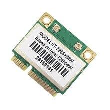 New Dual Band Wireless-AC 7265 Intel IT-7265HMW 7265D2W 2.4G/5Ghz 802.11ac 867Mbps Bluetooth 4.0 MINI PCI-E 2x2 Scheda WiFi