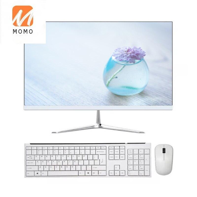 رخيصة الكل في واحد 24 27 بوصة منحني شاشة i3 i5 i7 حاسوب شخصي مكتبي oem كامل مجموعة الكمبيوتر أو نظام هيكلي