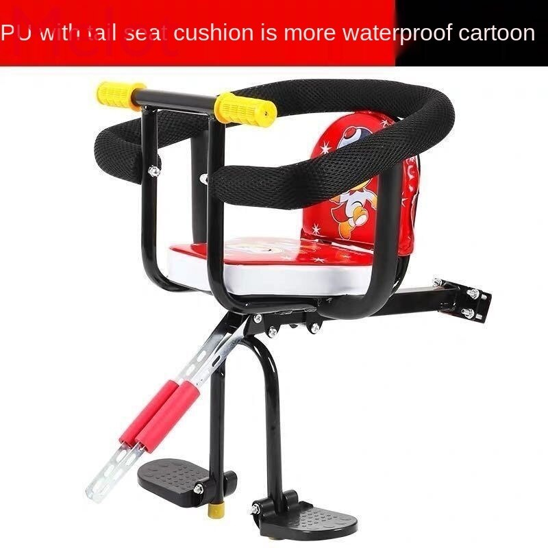 Bicycle Front Child Seat Front Electric Car Front Seat Mountain Bike Safety Car Seat Car