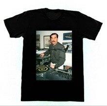 T-shirt homme, Dj Saddam Hussein, techniques 1200 Iraq House, Edm Hip Hop, vêtements de marque personnalisés avec impression spéciale