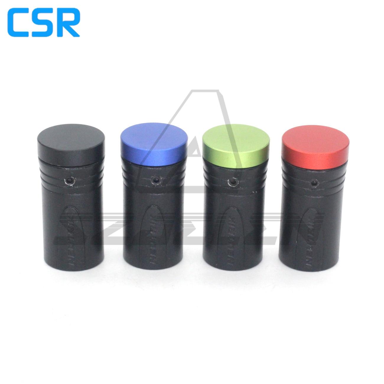 أحمر أزرق أسود أخضر منخفض المستوى XLR نيوتريك 3pin XLR ذكر الصوت PLU