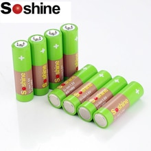 Soshine Rechargeable AA/HR6 Li-ion 1.5V 2200 mWh Battery