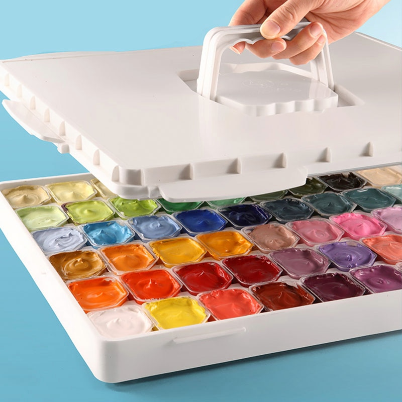 Marley jelly gouache painting set 54 colours 30ml painting students of the professional special painting craft aquarela supplies