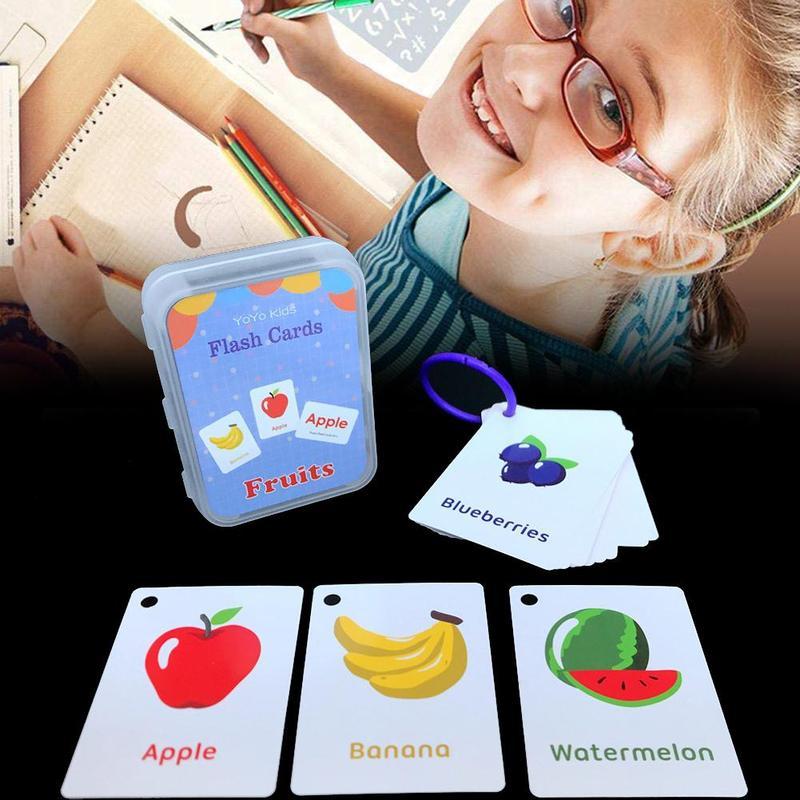 20 brief Englisch Flash Karte Handschrift Montessori Frühen Entwicklung Lernen Pädagogisches Spielzeug Für Kinder Kid Geschenk Mit Schnalle