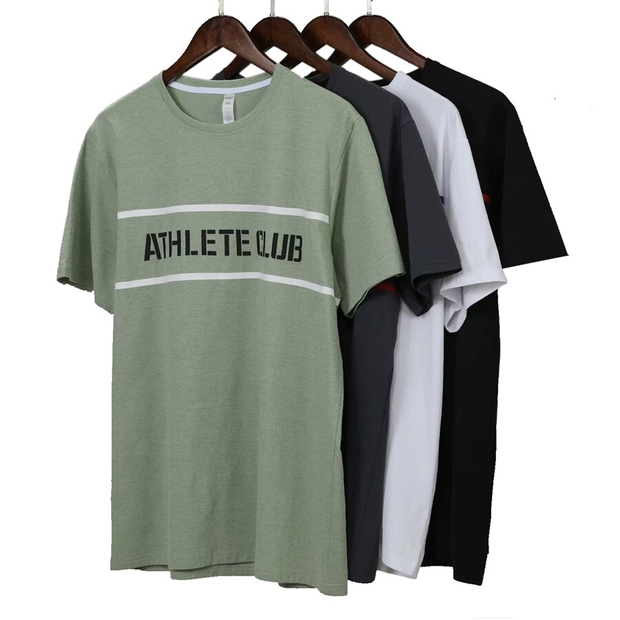 Men Quick Dry Running T Shirt Loose Tops Workout Gym T Shirt Men  Slim Fit Running Tshirt Men Fitness Tops Sport T Shirt недорого