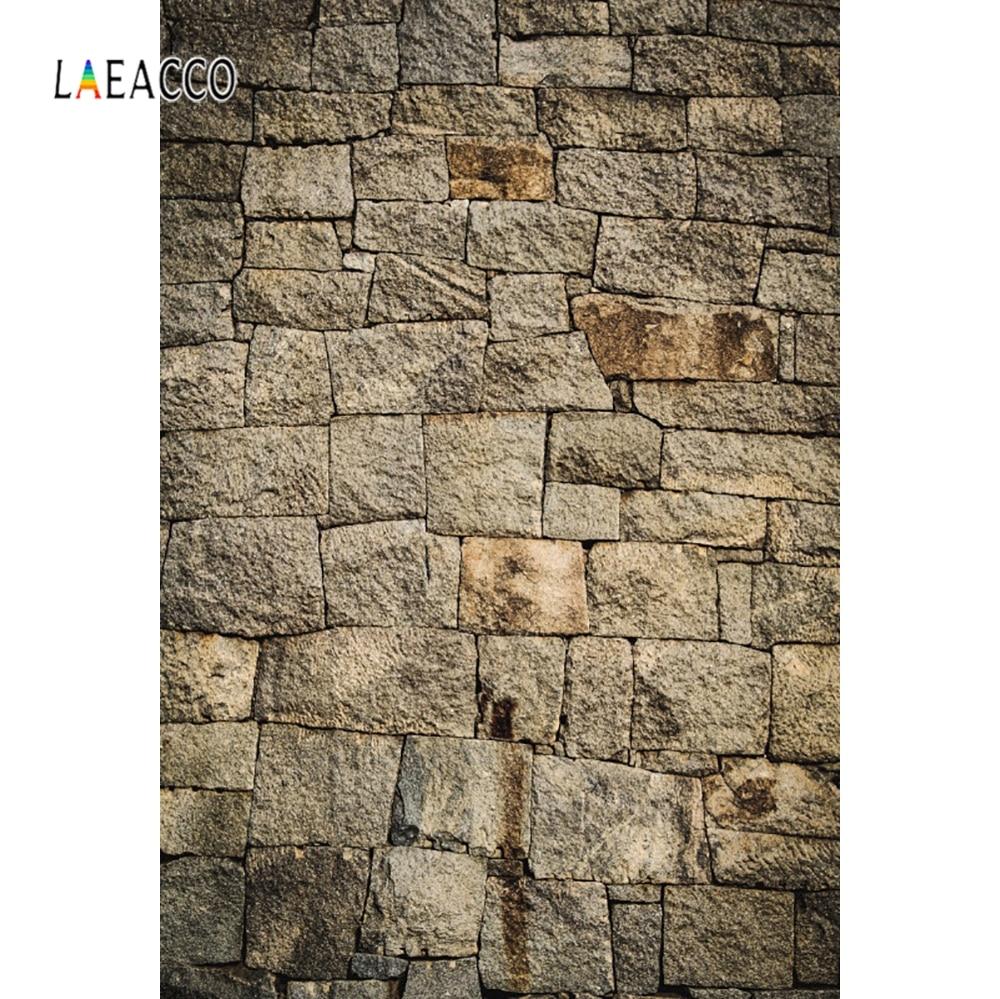 Laeacco rock textura parede retro parede pano de fundo retrato photocall fotografia fundo para estúdio de fotografia vinil photophone