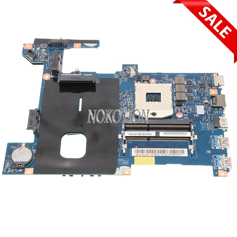 Nokotion LG4858 UMA MB 11291-1 48.4SG06.011 للكمبيوتر المحمول lenovo Ideapad G480 14 بوصة اللوحة الأم HM76 DDR3
