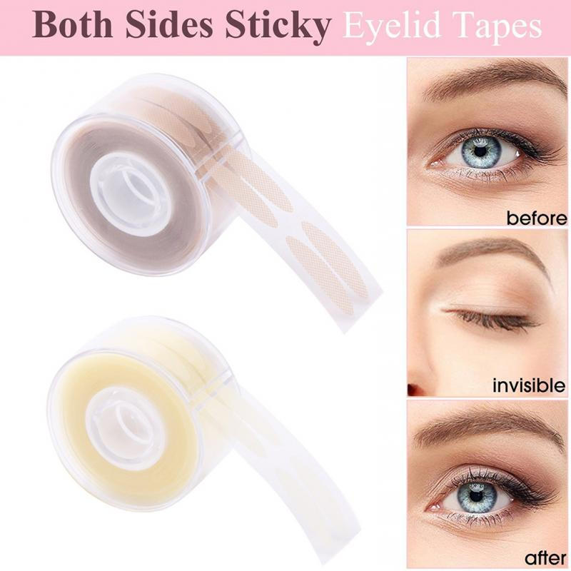 600pcs S/L Double Eyelid Sticker Invisible Plastic Lace Eyelid Tape Eyelid Lift Sticker Eyelid Paste