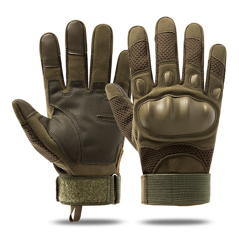 Motorcycle Gloves for men Full Finger Hard Knuckle Military Tactical Combat Training Army Shooting Outdoor Gloves enlarge