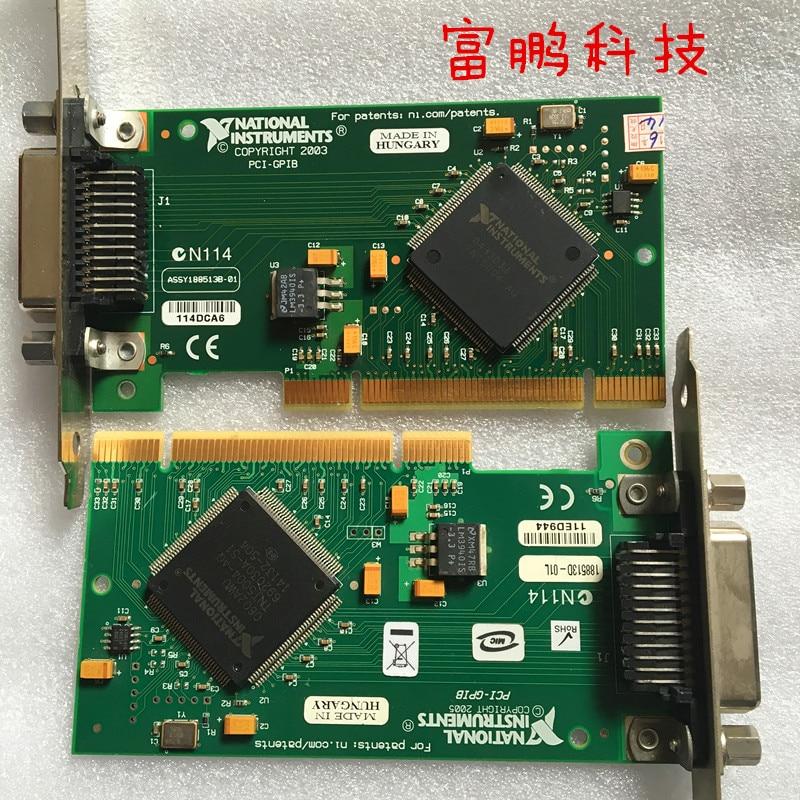ني PCI-GPIB بطاقة NI GPIB بطاقة صغيرة IEEE488 بطاقة 05 GPIB بطاقة