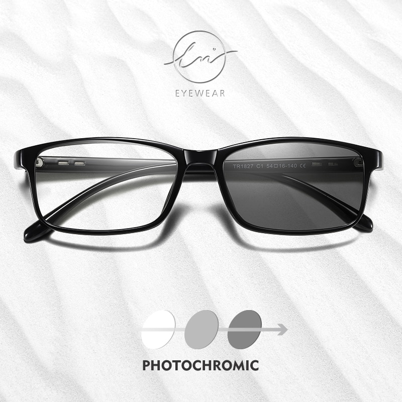LM 2021 Blue Ray Computer Photochromic Glasses Men Women Screen Radiation Eyewear Office Gaming Blue Light Goggle UV Blocking
