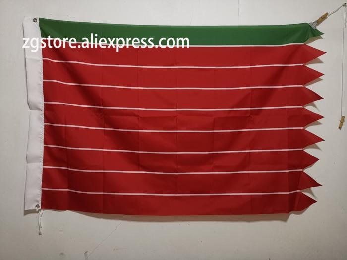 Flag of Zamora Banner 3X5FT 150X90CM Polyester Banner brass metal holes Home Décor