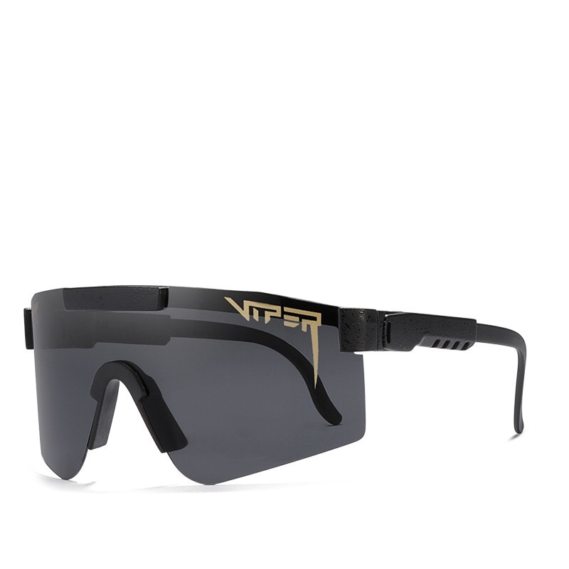 2021 Pits Viper TR90 Frame Mirrored lens Windproof Cycling Sport Polarized Sunglasses For Men Women