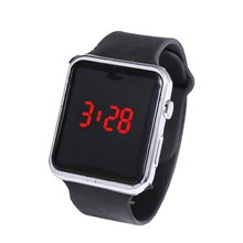 Electroplating Led Square Watch Student Adult For Apple Couple Sunglasses Electronic Meter Plating L
