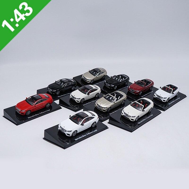 1:43 Mercedes E300 Alloy Diecast Car Model Toys Metal Model Vehicles Original Box