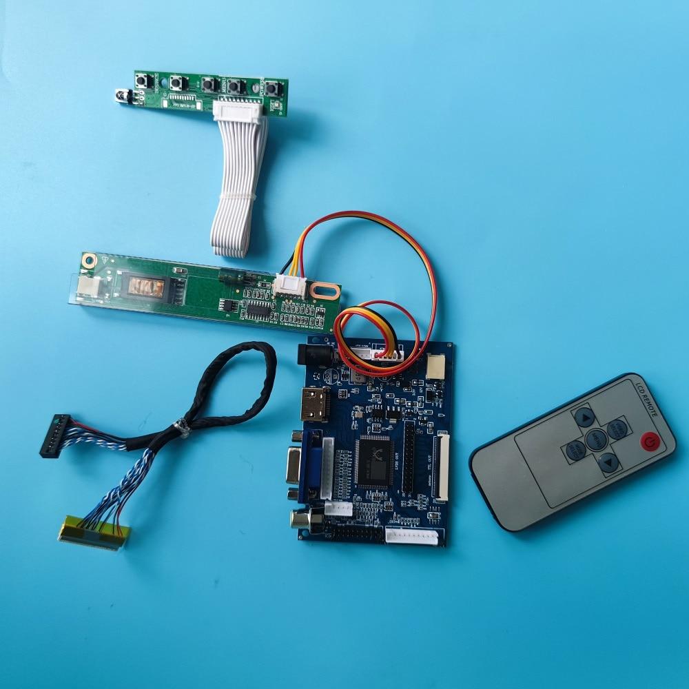 عدة تعمل لـ CLAA154WB03A 1280x800 شاشة عرض موتور 2AV VGA AV 30pin لوحة تحكم عن بعد لوحة سائق HDMI LCD