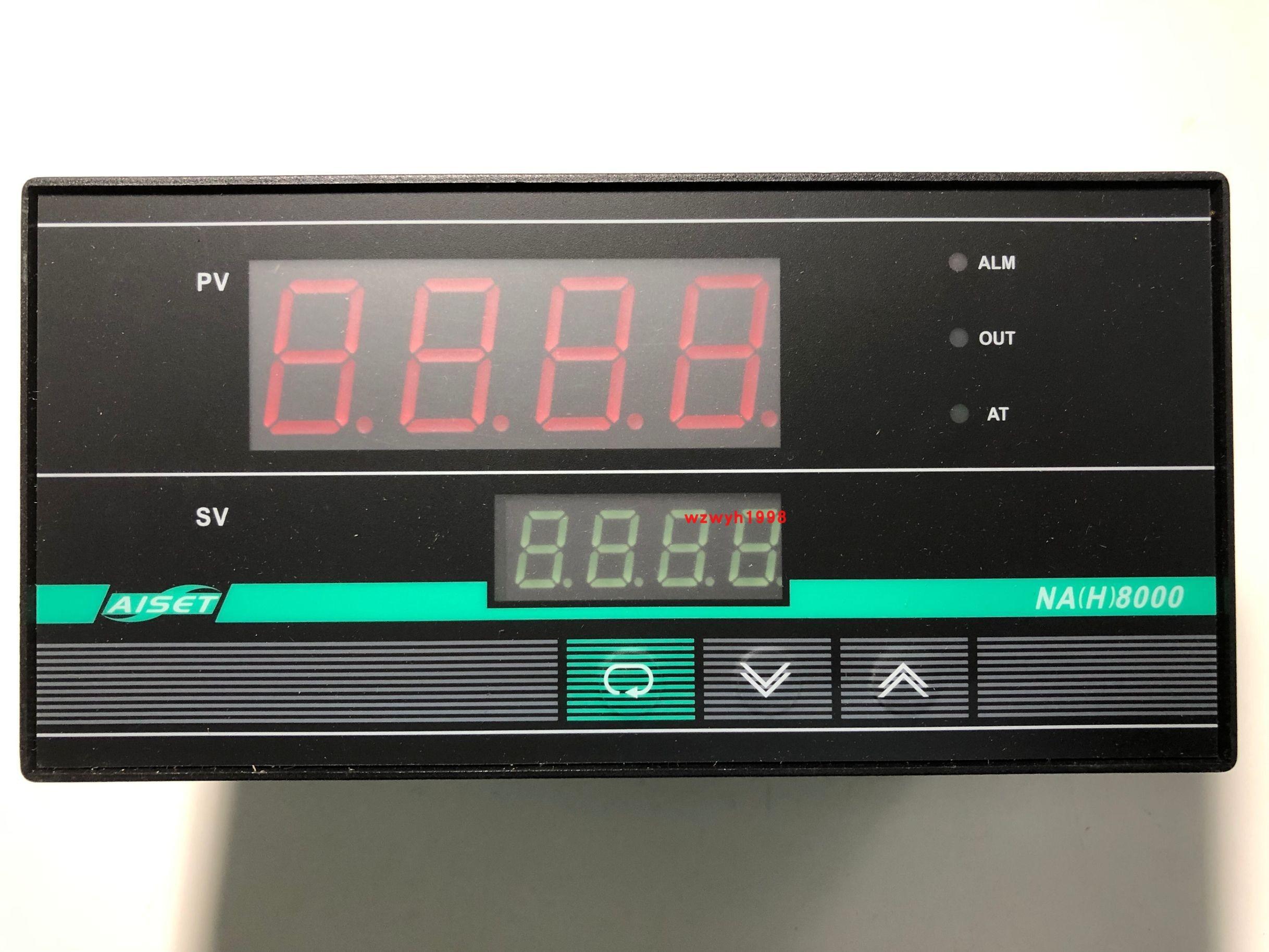 AISET شنغهاي AISET أداة NA(H)-8430 فولت عالية الدقة ترموستات NA(H)8000 NA(H)-8430 فولت K 400 ℃ NA(H)-8430 فولت PT100 400 ℃