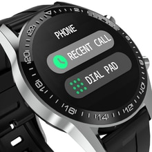 Round Bluetooth IP67 Call Smart Watch Men Full Touch Screen With Heart Rate Weather Pedometer watch