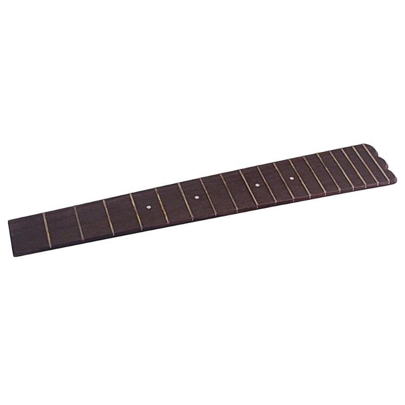 XSXS--26 Inch Ukulele Fretboard Fingerboard 18 Frets Rosewood for Concert Scale Ukulele Parts