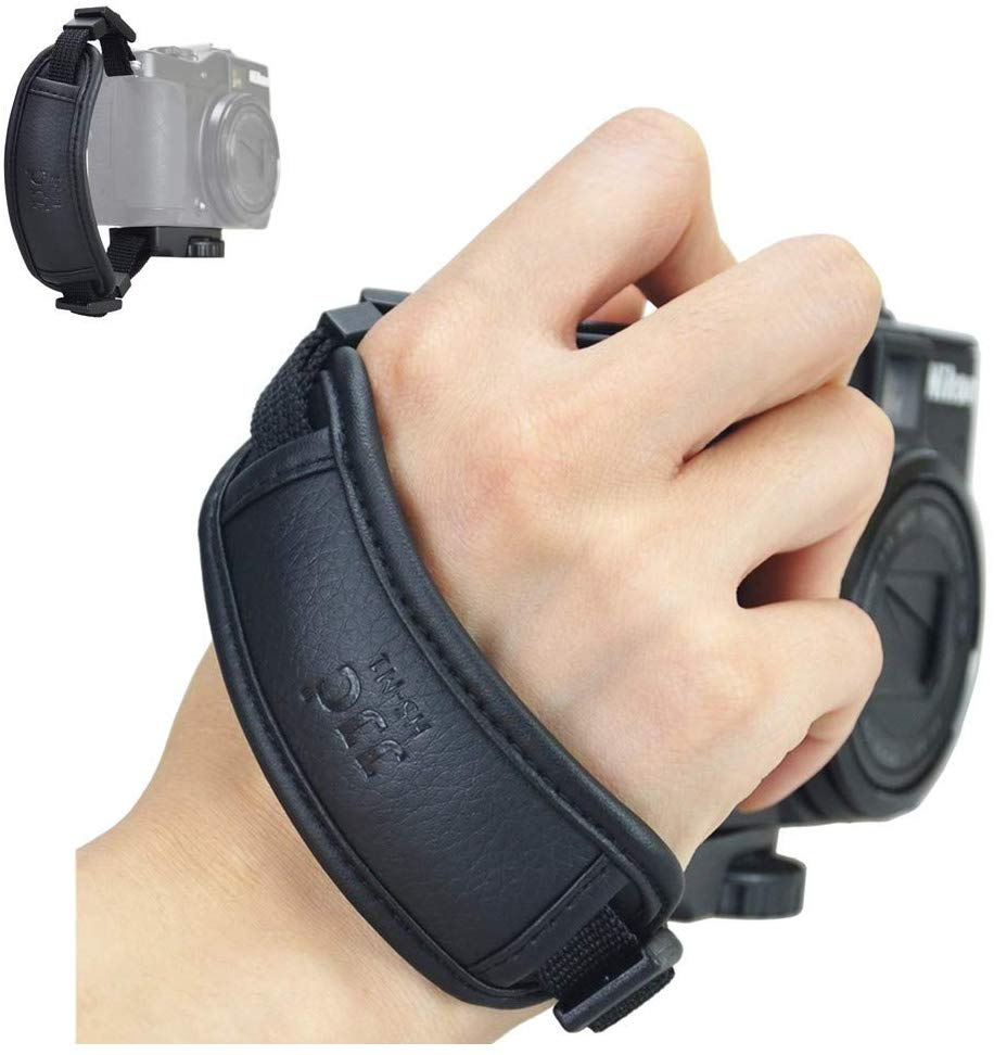JJC Camera Hand Grip Strap voor Canon PowerShot SX70 HS SX60 HS SX50 HS SX540 HS SX530 HS SX520 HS SX420 IS SX410 IS G3X