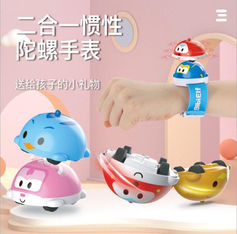 Ainibear Watch Spinning Top Strange Toys for Boys Girls Kids Creativity Gift