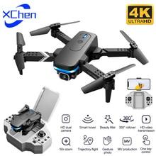 KY910 Mini Foldable Drone with 4K HD Dual Camera Wide Angle Optical Flow Professional WiFi FPV RC Qu