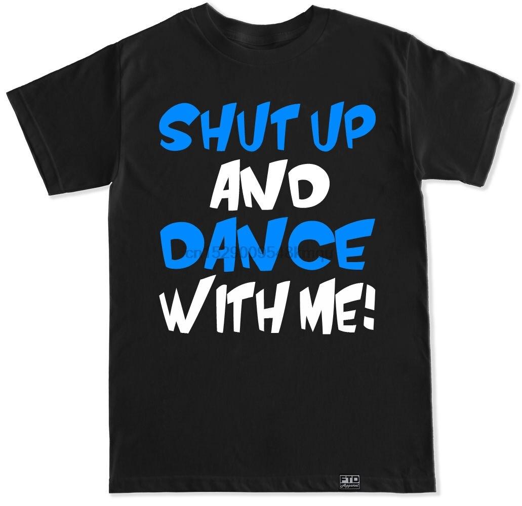Cállate y Baila conmigo caminar por la luna DJ EDC PARADISO de la UMF EDM TRANCE T camisa 100% Camiseta de algodón camisa tops venta al por mayor camiseta