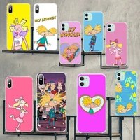 cutewanan hey arnold custom photo soft phone case for iphone 11 pro xs max 8 7 6 6s plus x 5s se 2020 xr cover
