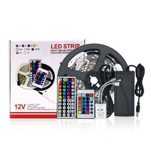 LED Strisce di Luce RGB Tiktok Luci Attenuazione Intelligente App di Controllo Impermeabile Flessibile 5050 300LEDS IR 24 Per HDTV TV retroilluminazione